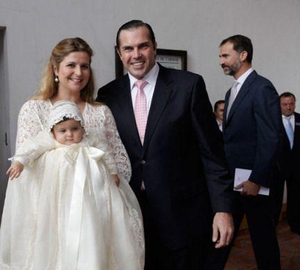 C'est à Evora qu'a été célébré dans l'initimité familiale le baptême de la princesse Isabelle d'Orléans, premioer enfant du prince Charles-Philippe ...