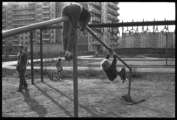 Спортивный городок школы № 72, 13 мая 1983, г. Новокузнецк
