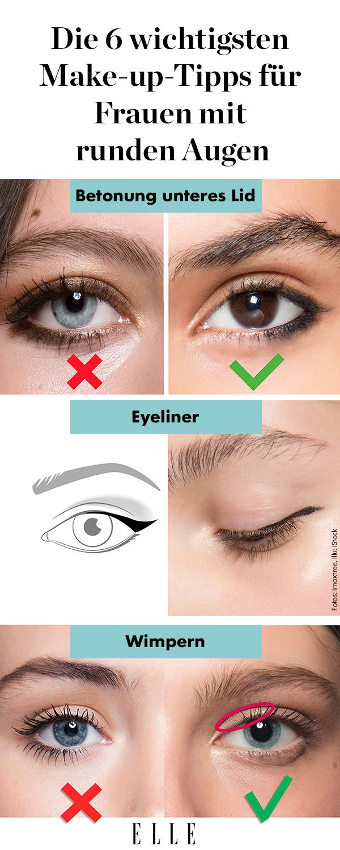 Runde Augen Die 6 Wichtigsten Make Up Tricks Bei Rehaugen