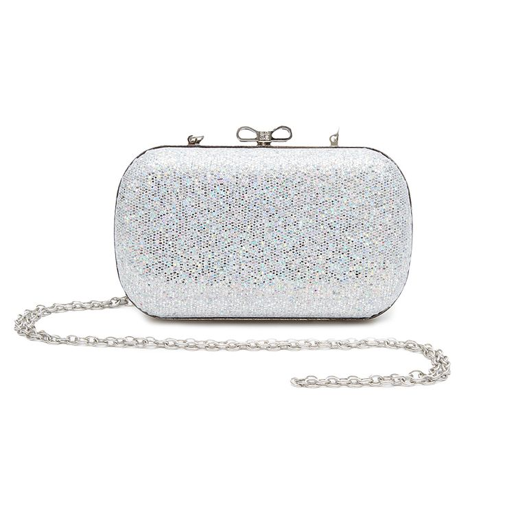 This glitter clutch is the perfect accessory on NYE!