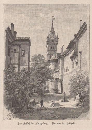 orig-Holzstich-Das-Schloss-in-Koenigsberg-i-Pr-von-der-Suedseite-Baltikum