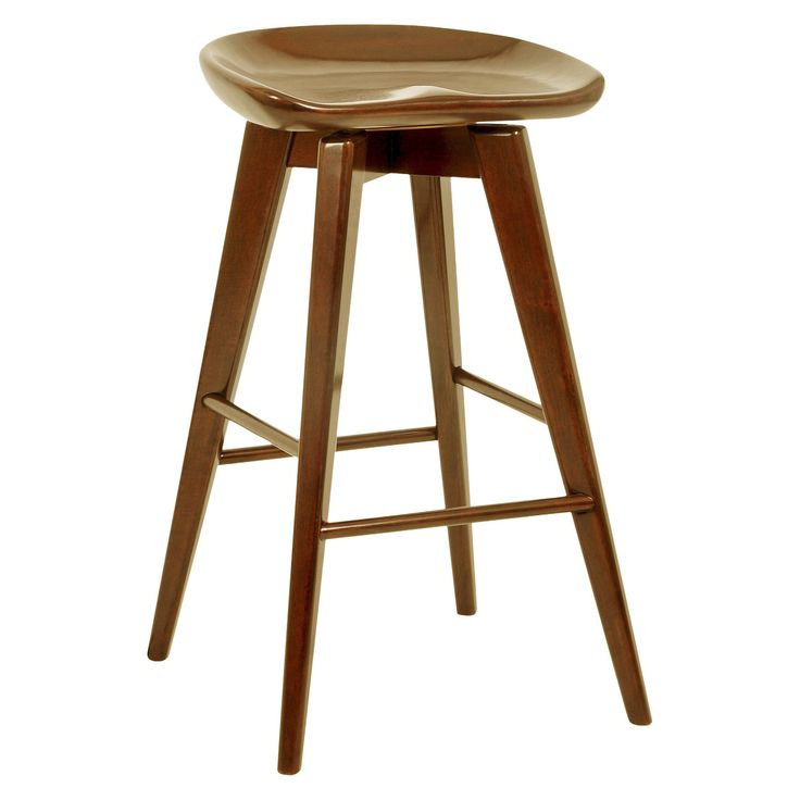 Inspirational Wooden Backless Bar Stools