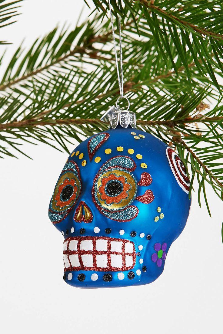 Sugar Skull Ornament