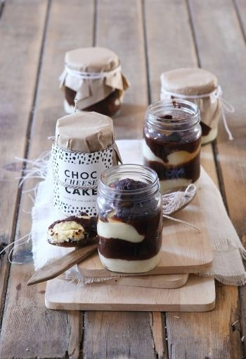 Chocolate Cheesecake in a Jar recipe on http://www.nomu.co.za/recipes