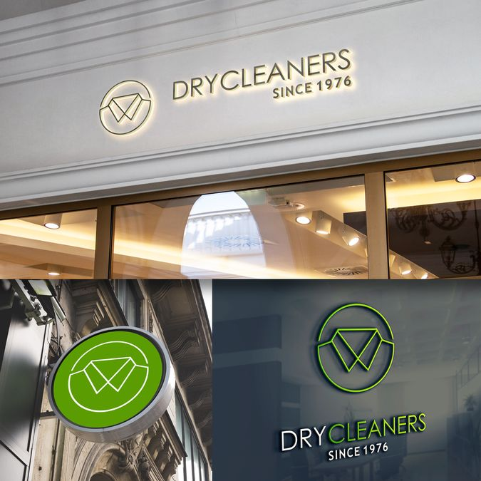 Design a simple logo for Dry Cleaners by m@ntaray