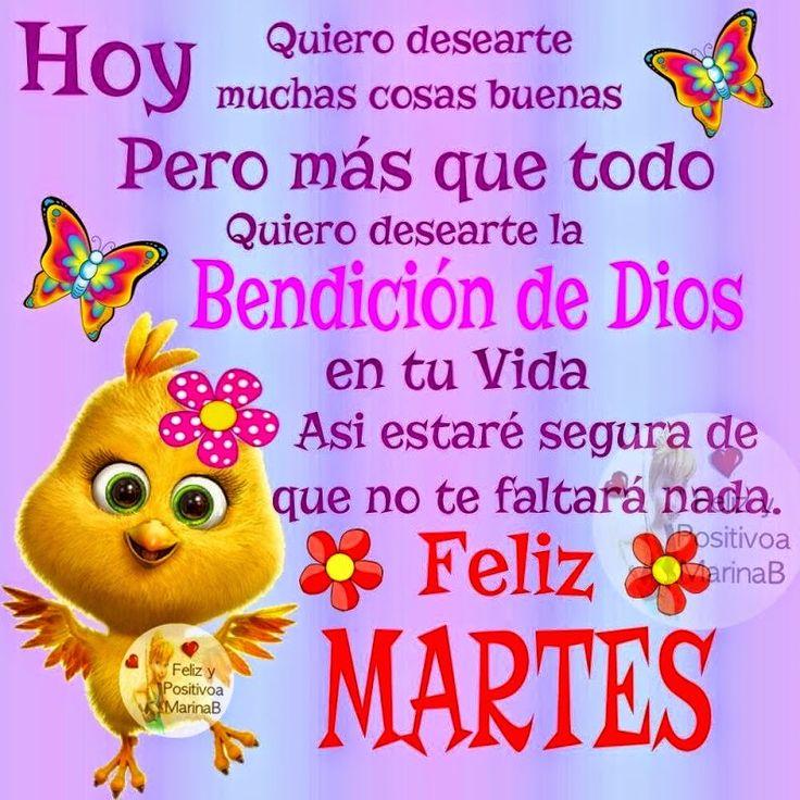 #FelizMartes  #FelizDia   Imagen Feliz Martes