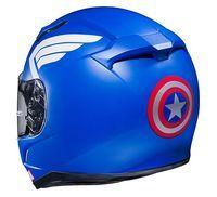 HJC Marvel Series Captain America Motorcycle Helmet 1