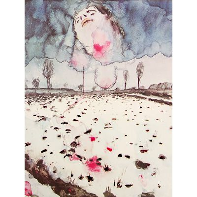 アンゼルム・キーファー【Watercolors 1970 - 1982】 - 京都にある美術洋書をセレクトした本屋【Artbook Eureka Onlinestore(アートブック・ユリーカ)】