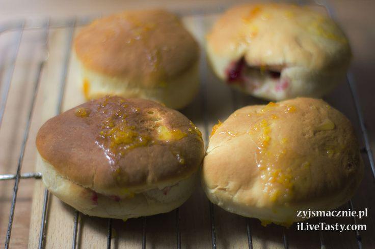 Pączki pieczone z pomarańczowym lukrem - Powered by @ultimaterecipe