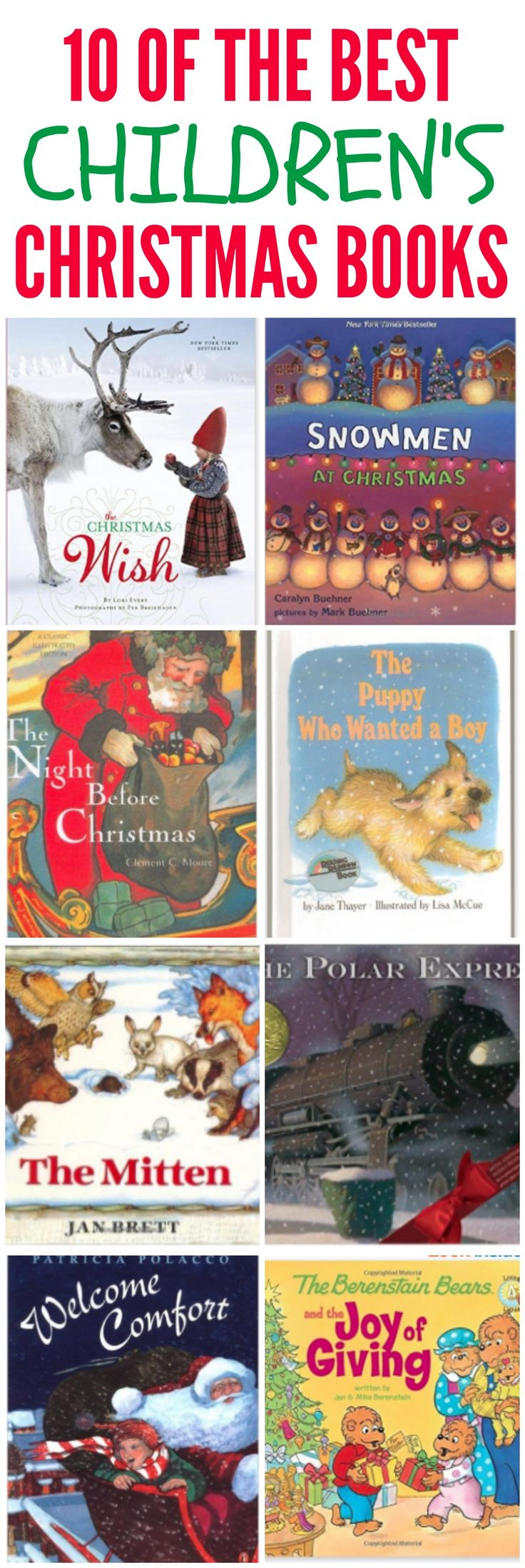 10 of the Best Children's Christmas Books to read this holiday season