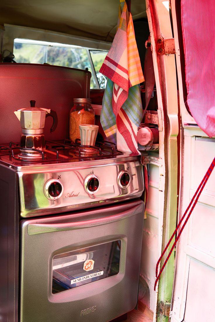 Kitchen in a Combi #volkswagencombi #combilife #combi  #travelingwithkids  #iamfamily #worldschooling #hackinglife #roadschooling #travelingkids  #travelingfamily #kitchen #combiinterior #refurbishedcombi