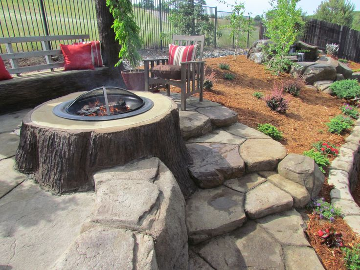 117 best Backyard Fire Pits images on Pinterest   Backyard fire ...