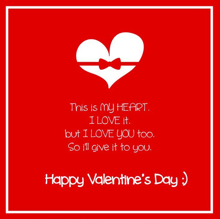 35 best valentines day images on pinterest valentine ideas happy valentines message