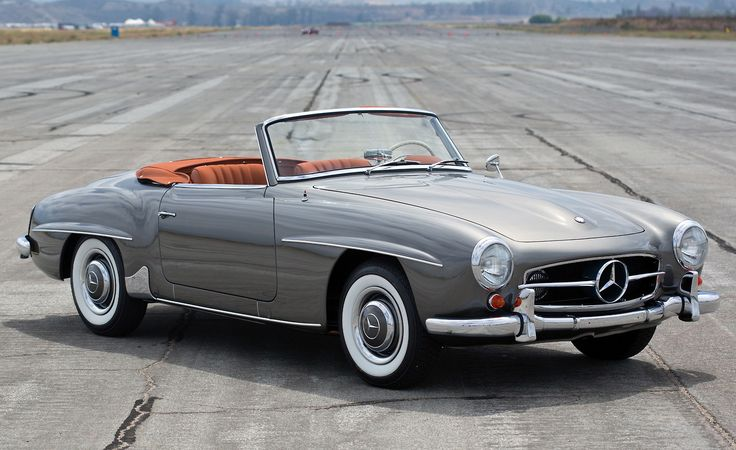 Mercedes 190SL Classic car  Download AZukx Ambient and Trance Music free at www.gesarofling.co.uk