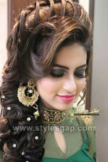 Latest Asian Party Wedding Hairstyles 2018-2019 Trends ...