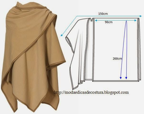 Use the bing translator to get the directions in English- super easy tutorial on how to make this awesome tunic!