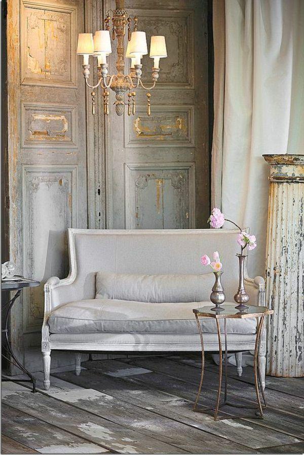 Die besten 25+ Französisches sofa Ideen auf Pinterest Vintage - franzosischen stil interieur ideen