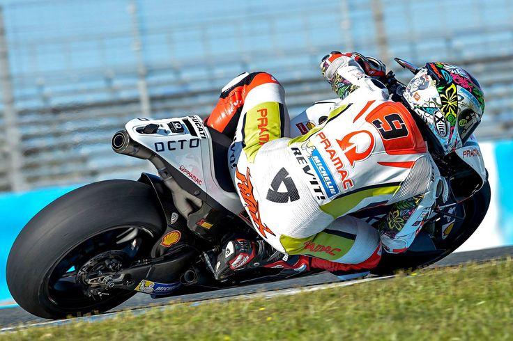 Danilo Petrucci Winter Test Jerez 2015
