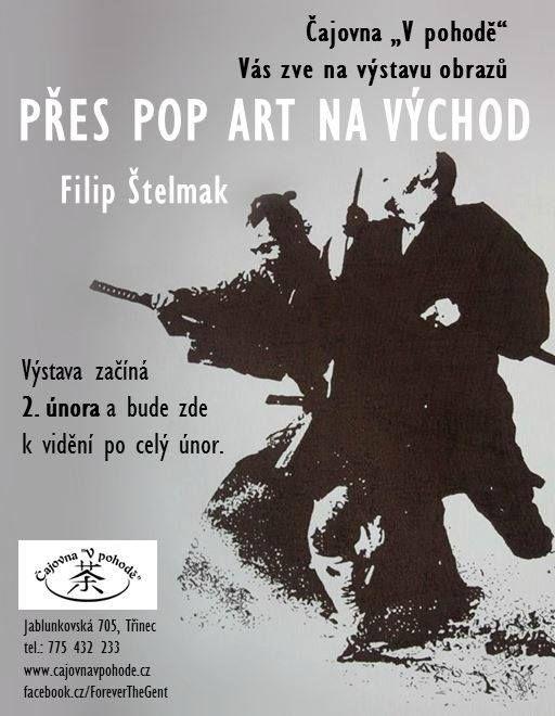 Plakát k právě probíhající výstavě v Třinci