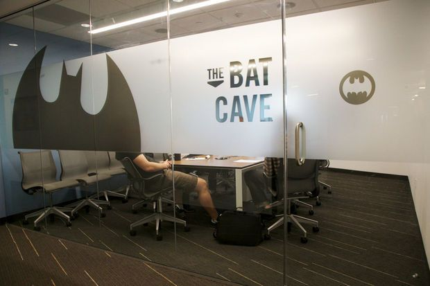 Growing firms demand creative space in traditional office for Room design names