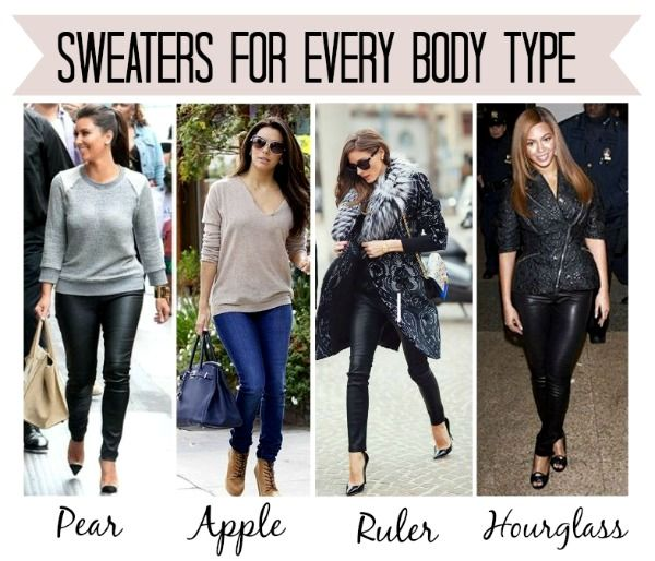 best sweaters for pear shaped - Google Search   Body Shape ...