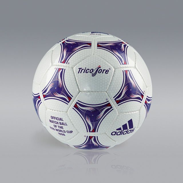 Adidas Tricolore France 1998 Soccer Balls World Cup Match Soccer Ball