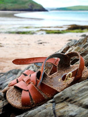 salt-water sandals - my birthday is approaching.  I'm a size 7. . Just sayin.