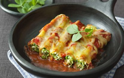 Zuchinni, Pea & Chilli Cannelloni