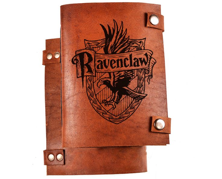 Ravenclaw logo journal - ravenclaw notebook - harry potter notebook - harrypotter gift - leather diary by BlankLeather on Etsy https://www.etsy.com/uk/listing/271587793/ravenclaw-logo-journal-ravenclaw
