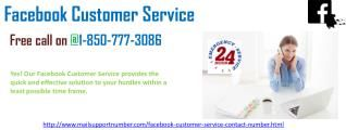 """Could you avail the Facebook Customer Service 1-850-777-3086 anytime? """"Just call 1-850-777-3086 and see us eradicating all of your troubles in a jiffy. We are accessible anytime, from anywhere around the world.  Here our accomplices are continually sorted out to deal with the issue through Facebook Customer Service 1-850-777-3086. • Create new Facebook account with great security and optimize features. • Create safety on your email account against hackers. For more Information visit our…"""