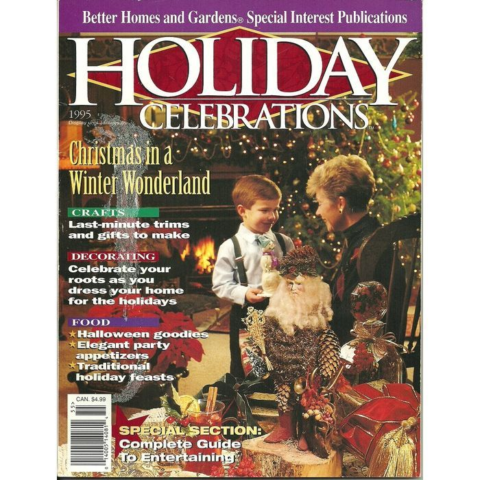 113 best images about books and magazines on pinterest Better homes and gardens christmas special
