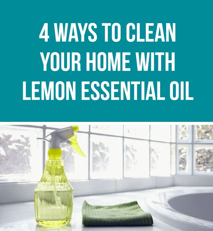 4 Ways to Clean Your Home With Lemon Essential Oil | Healthy Belly Happy Mind