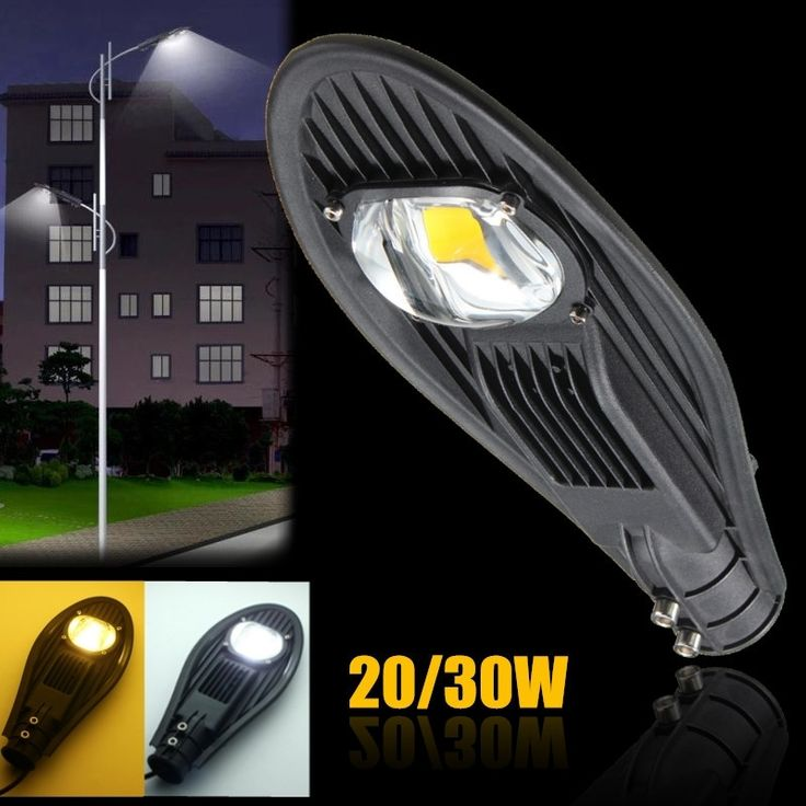 27.11$  Watch more here  - 20W 30W Pure Warm White Waterproof IP65 LED Street Light Outdoor Lighting Flood Road Industrial Lamp Garden Yard Light DC12V