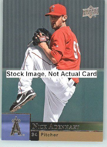 2009 Upper Deck Baseball Card # 190 Nick Adenhart ( Angels ) MLB Trading Card in a Protrective Screw Down Display Case by Upper Deck. $2.95. 2009 Upper Deck Baseball Card # 190 Nick Adenhart ( Angels ) MLB Trading Card in a Protrective Screw Down Display Case