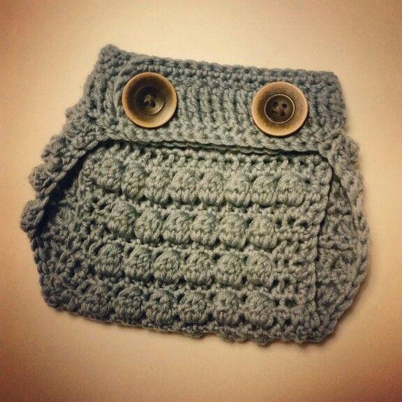 Crochet diaper cover ♡ Recipe found here: http://doityourselfbyruta.wordpress.com