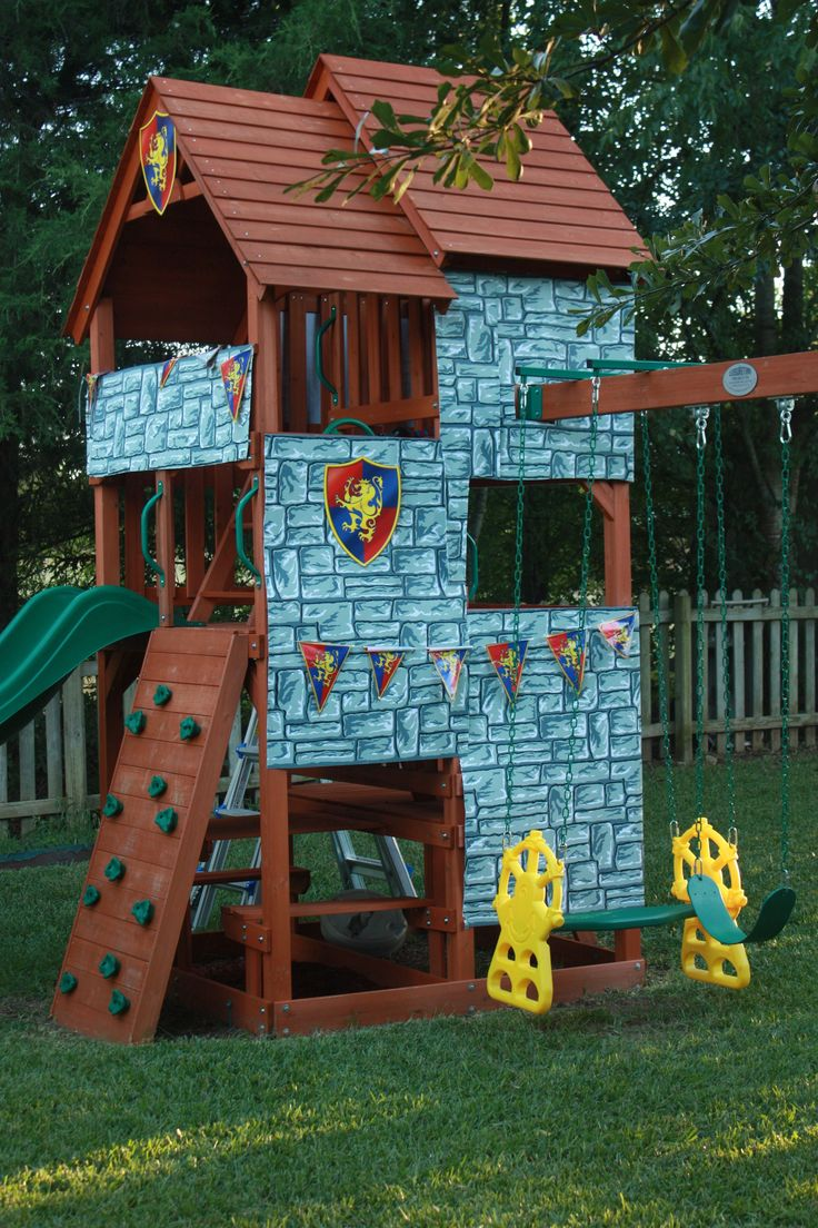 Castle Swing Set Plans