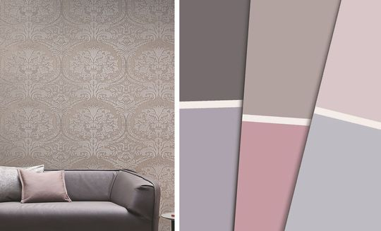 Palette de couleurs pour une inspiration arabesque - 90 couleurs pour tout repeindre - CôtéMaison.fr