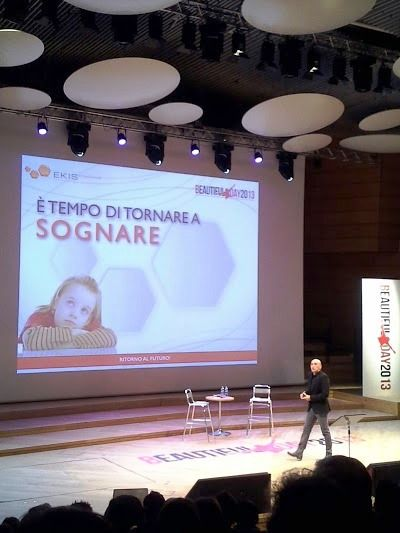 """""""E' tempo di sognare"""" - ritorniamo a fare progetti- Livio Sgarbi incita la platea a #BeautifulDay"""