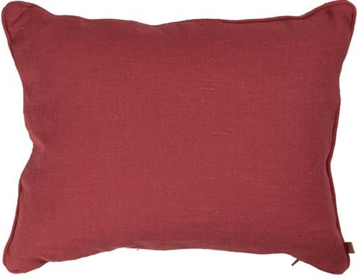 Neptune Penelope Cushion, Burnham Red | Scatter Cushions
