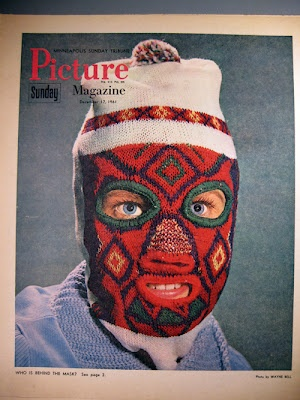 Whacky Christmas! Whomever came up with the idea for this cover was a truly deranged individual.