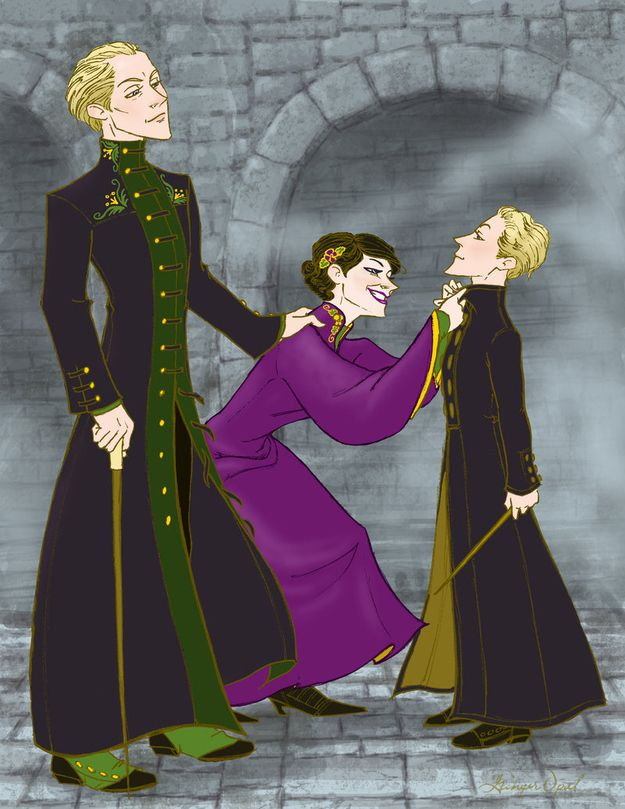 Draco Malfoy married Astoria Greengrass , the younger sister of Daphne. They had one son, Scorpius Hyperion. | 28 Things That Happened After The Harry Potter Books Ended