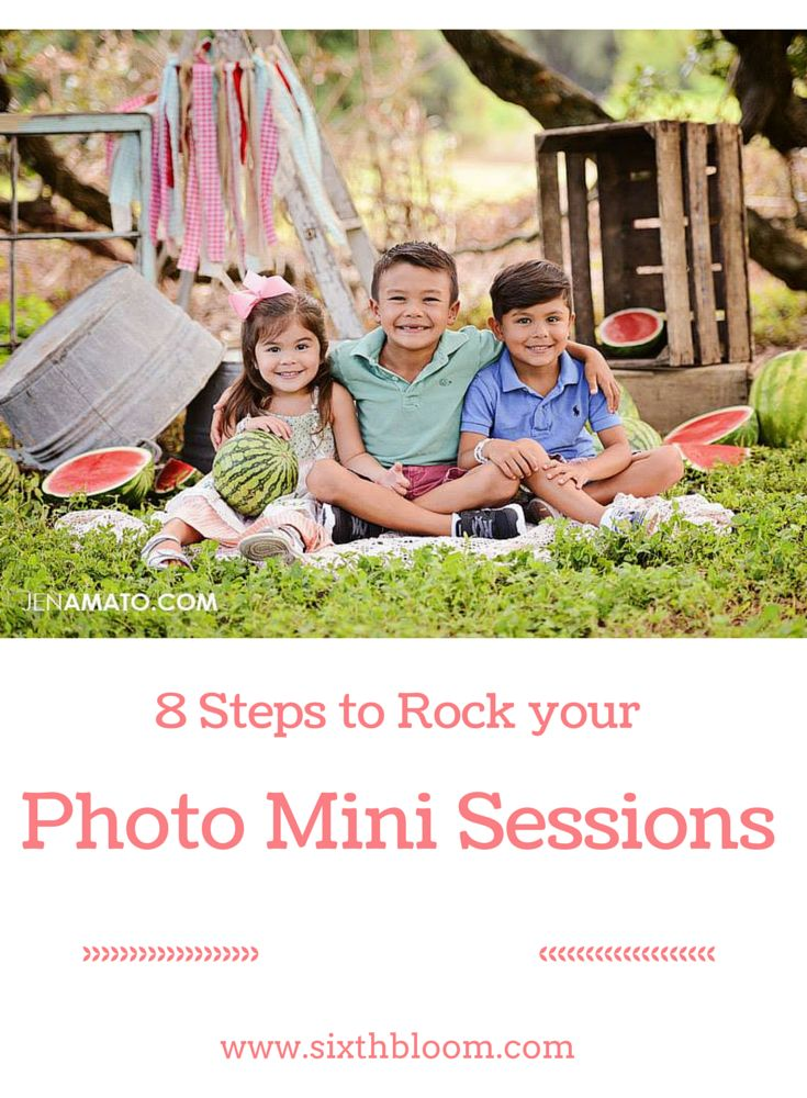 Steps to Rock your Photo Mini Sessions, Photography Mini Session Tips, Photo Mini Session Ideas