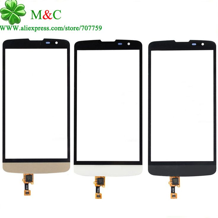 Hight quality  Touch Panel For LG L Bello D331 D335 D337 Touch Screen Digitizer Glass Panel With Logo With Tracking Number