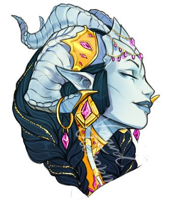 Draecember day 4: Jewelry. Thanks to @teechew for letting me use her younger Shan as the subject for today, seeing as she's the queen of jewelry, and I love love the result! Shan belongs to @teechew