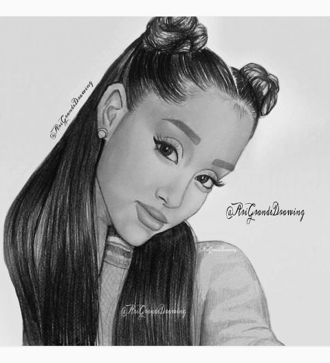 222 Best Ariana Drawings Images On Pinterest | Ariana Grande Fans Ariana Grande Drawings And ...
