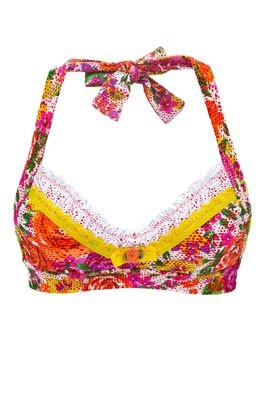 : Orange Slices, Fashion, Halter Tops, Style, Johnson S Orange, Johnson Flowershop, Floral Top