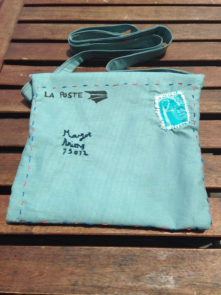 La Poste cross body bag