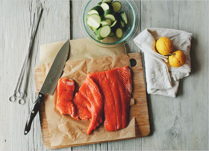 The 25+ best Salmon skewers ideas on Pinterest | Seafood ...
