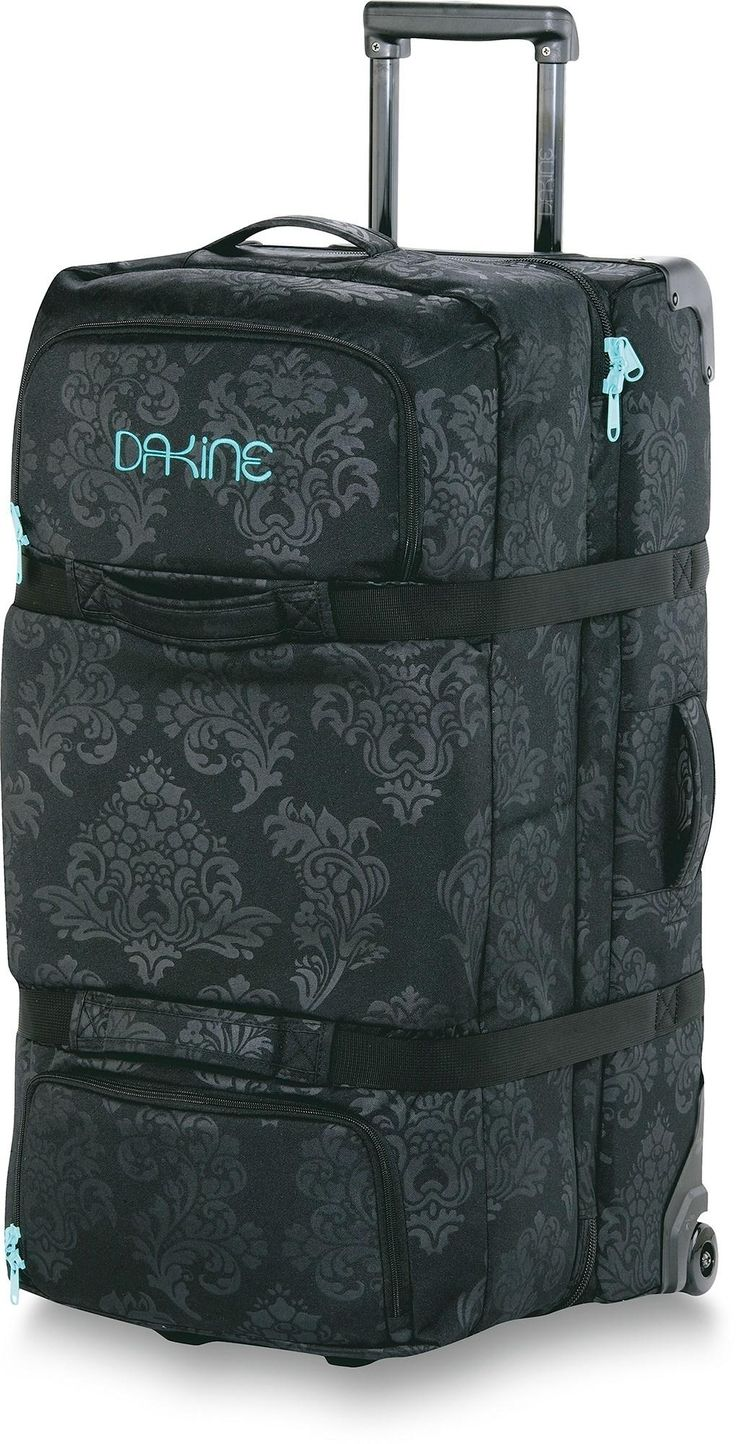 At REI Outlet: Dakine Split Roller Wheeled Bag. Snowy winter vacations are right around the corner. This has a separate compartment just for boots!