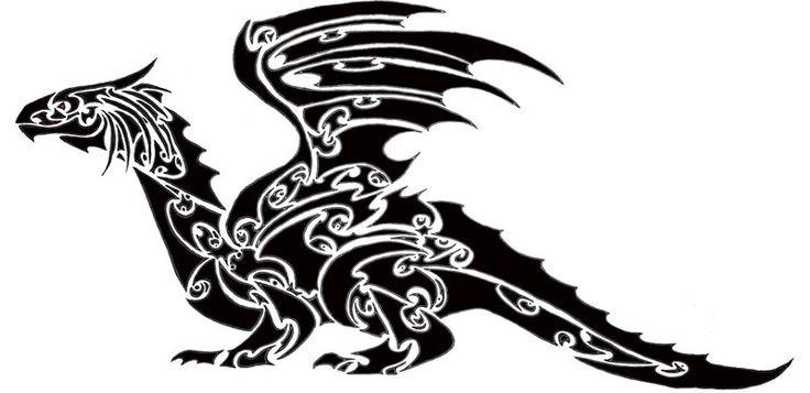20 Best Maori Dragon Tattoo Designs Images On Pinterest